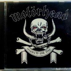 CDs de Música: MOTÖRHEAD - MARCH ÖR DIE - CD 1992 - WTG RECORDS. Lote 151425462