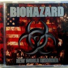 CDs de Música: BIOHAZARD - NEW WORLD DISORDER - CD 1999 - MERCURY. Lote 151425926