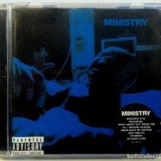 CDs de Música: MINISTRY - GREATEST FITS - CD 2001 WARNER BROS. RECORDS . Lote 151427198