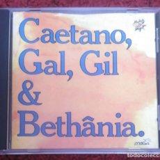 CDs de Música: CAETANO VELOSO, GILBERTO GIL, GAL COSTA & MARIA BETHANIA - CD 1990. Lote 151427362