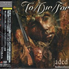 CDs de Música: TO/DIE/FOR - JADED - CD - JAPAN 2003 - M & I - MYCP-30215. Lote 151427502