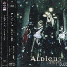CDs de Música: ALDIOUS - WHITE CROW - CD DVD - JAPAN 2012 - SPINNING - BSRS-010. Lote 151429574