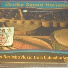 CDs de Música: ¡ARRIBA SUENA MARIMBA! - CURRULAO MARIMBA MUSIC FROM COLOMBIA BY GRUPO NAIDY - CD PRECINTADO. Lote 151432290