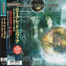 CDs de Música: SECRET SPHERE - A TIME NEVER COME - CD - JAPAN 2001 - AVALON - MICP-10229. Lote 151432626