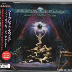 CDs de Música: SECRET SPHERE - SCENT OF HUMAN DESIRE - CD - JAPAN 2003 - AVALON - MICP-10366. Lote 151433274
