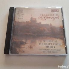 CDs de Música: CD THE GLORY OF ST. GEORGES, THE CHOIR OF ST GEORGE'S CHAPLE WINDSOR. Lote 151439854