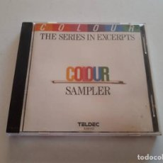 CDs de Música: CD THE SERIES IN EXCERPTS, COLOUR SAMPLER. Lote 151441574