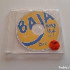 CDs de Música: CD BAJA BEACH CLUB, VOL. 2. Lote 151443182
