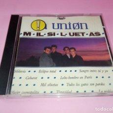 CDs de Música: CD-LA UNIÓN-MIL SILUETAS-WEA-10 TEMAS-1984-BUEN ESTADO-VER FOTOS. Lote 151454294