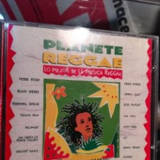 CDs de Música: CD DE PLANETE REGGAE: PETER TOSH, BOB MARLEY, DILLINGER, JIMMY CLIFF, CULTURE, YELLOWMAN. Lote 151455354