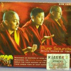 CDs de Música: PURE SOUNDS / GYUTO MONKS OF TIBET - CD. Lote 151478966