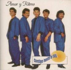 CDs de Música: CD- AMOR Y RITMO/ CONTIGO HASTA EL SOL (NUEVO PRECINTADO). Lote 151484878