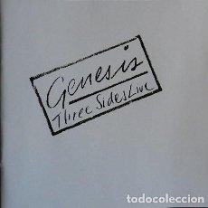 CDs de Música: GENESIS - THREE SIDES LIVE - 2XCD REMASTERIZADO. Lote 151487694