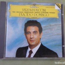 CD de Música: CD PLACIDO DOMINGO - VERDI & PUCCINI.. Lote 151489102
