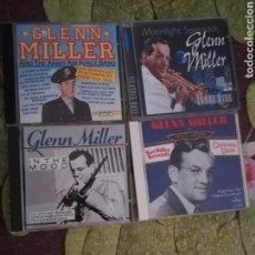 CDs de Música: GLENN MILLER / 4 CD'S JAZZ. Lote 151529530