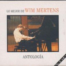 CDs de Música: LO MEJOR DE WIM MERTENS DOBLE CD ANTOLOGÍA 2007 DIGIPACK. Lote 151536058