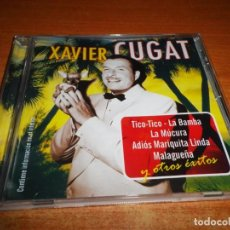 CDs de Música: XAVIER CUGAT Y SU ORQUESTA TICO-TICO CD ALBUM DEL AÑO 2005 CONTIENE 16 TEMAS. Lote 151576482