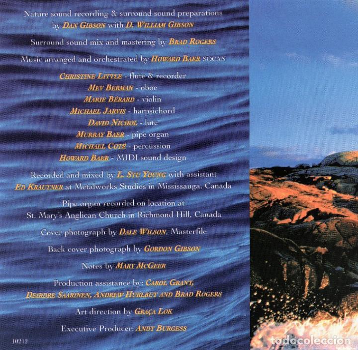 CDs de Música: SOLITUDES.- BACH FOR EVER BY DE SEA.- DAN GIBSONS - Foto 4 - 151591230