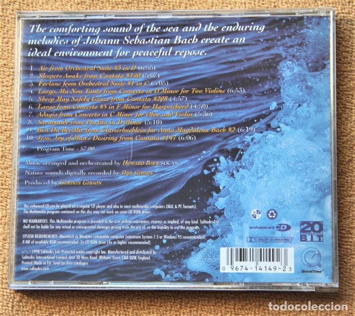 CDs de Música: SOLITUDES.- BACH FOR EVER BY DE SEA.- DAN GIBSONS - Foto 5 - 151591230