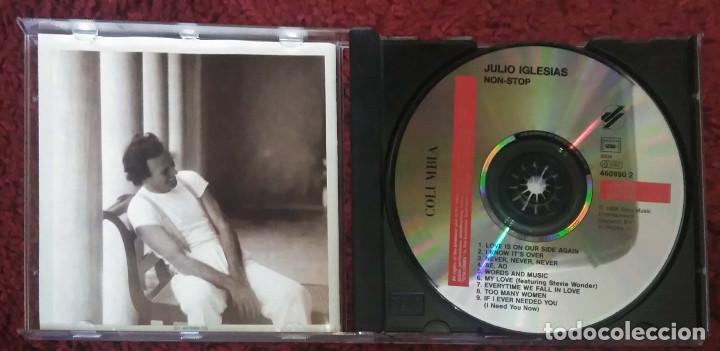 CDs de Música: JULIO IGLESIAS (NON STOP) CD 1988 - Foto 3 - 151618374