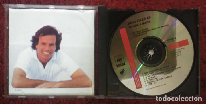 CDs de Música: JULIO IGLESIAS (DE NIÑA A MUJER) CD 1981 - Foto 3 - 151618514