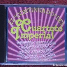 CDs de Música: CUARTETO IMPERIAL (EL CONTINUADO DEL CUARTETO IMPERIAL) CD 1992 * DIFICIL EN CD. Lote 151621406