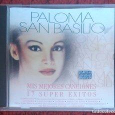 CDs de Música: PALOMA SAN BASILIO (MIS MEJORES CANCIONES - 17 SUPER EXITOS) CD 1998 EDICIÓN CHILENA. Lote 151643234