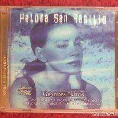 CDs de Música: PALOMA SAN BASILIO (GRANDES EXITOS - SERIE DE ORO ROMANTICOS) CD 2002 EDICIÓN USA. Lote 151643390
