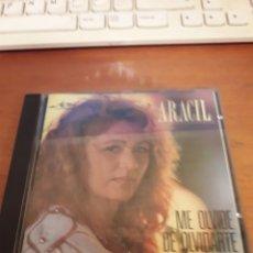 CDs de Música: ARACIL. ME OLVIDÉ DE OLVIDARTE. EDICIÓN JERCAR.. Lote 151645564