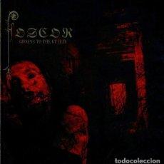 CDs de Música: FOSCOR – GROANS TO THE GUILTY --DIGIPAK. Lote 151659334