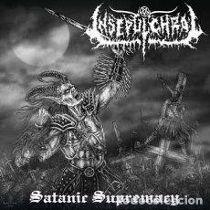 CDs de Música: INSEPULCHRAL – SATANIC SUPREMACY --BLACK METAL. Lote 151659718