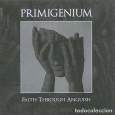 CDs de Música: PRIMIGENIUM – FAITH THROUGH ANGUISH -BLACK METAL. Lote 151660530