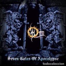 CDs de Música: WYRM --SEVEN GATES OF APOCALYPSE --BLACK METAL. Lote 151661150