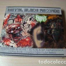 CDs de Música: BROKEN HOPE – SWAMPED IN GORE ..( DOS CDS DOBLES)--DEATH METAL RAREZA!!. Lote 151661662