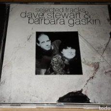 CDs de Música: CD - DAVE STEWART & BARBARA GASKIN - SELECTED TRACKS -. Lote 151685905