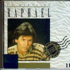 CDs de Música: CD LA MAGIA DE RAPHAEL ( CANADA Y DISTRIBUIDO EN ARGENTINA ) LOS AMANTES // LA NOCHE // AVE MARIA //. Lote 151763910