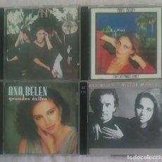 CDs de Música: LOTE 4 CD'S ANA BELEN - * VER FOTOS - VICTOR MANUEL. Lote 151770058