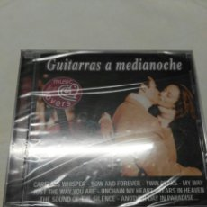 CDs de Música: GUITARRAS A MEDIANOCHE MUSIC FOR LOVERS 14 ÉXITOS NUEVO PRECINTADO. Lote 151796690