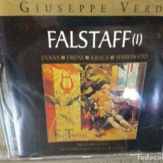 CDs de Música: BJS.CD.GIUSEPPE VERDI.FALSTAFF.2 CDS.BMG.. Lote 151811238