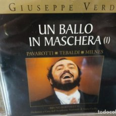 CDs de Música: BJS.CD.GIUSEPPE VERDI.UN BALLO IN MASCHERA.2 CDS.BMG.. Lote 151813734