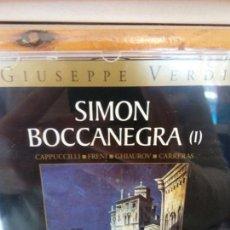 CDs de Música: BJS.CD.GIUSEPPE VERDI.SIMON BOCCANEGRA.2 CDS.BMG.. Lote 151814874