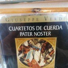 CDs de Música: BJS.CD.GIUSEPPE VERDI.CUARTETOS DE CUERDA PATER NOSTER.BMG.. Lote 151815358