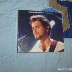 CDs de Música: PABLO ALBORAN EN ACUSTICO , CD + DVD. Lote 151853402
