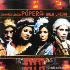 CDs de Música: COMPAÑÍA LÍRICA PÓPERA - GALA LATINA - CD. Lote 151856178