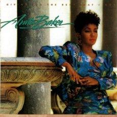 CDs de Música: ANITA BAKER. GIVING YOU THE BEST THAT I LOVE. 1988.. Lote 151856986