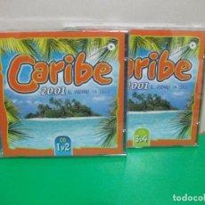 CDs de Música: CARIBE2001 COMPLETO 2 CDS DOBLES CD1 Y CD2 / CD3 Y CD4 NUEVO¡¡. Lote 151857522