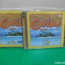 CDs de Música: CARIBE 2002 CORAZON LATINO 3 CDS + DVD NUEVO¡¡. Lote 151857966