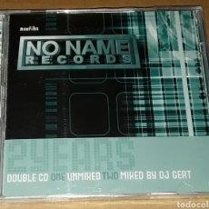 CDs de Música: 2CD - 2 YEARS NO NAME RECORDS - NUEVO Y PRECINTADO - DJ YOERI,NORD,DJ GERT,MR VINX -NO NAME RECORDS. Lote 151860280