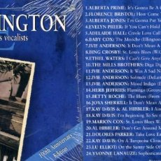 CDs de Música: DUKE ELLINGTON. ELLINGTON AND HIS VOCALISTS. . Lote 151862138