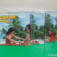 CDs de Música: CARIBE MIX 2002 TRIPLE CD ALBUM CD1 , CD2 , CD3 NUEVO¡ PEPETO. Lote 198946005